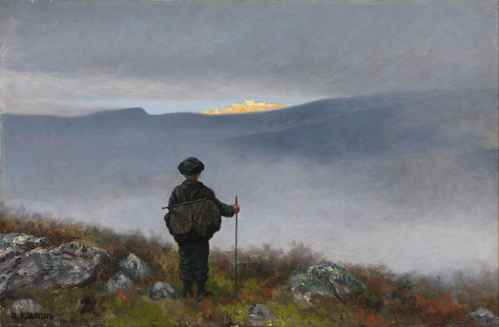 theodor_kittelsen_-_far_far_away_soria_moria_palace_shimmered_like_gold_-_google_art_project